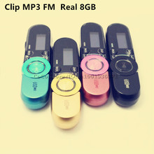 2017 New Sport Mp3 player NWZ-152 for sony mp3 players 8GB with clip + FM Radio pen USB Flash Mini MP3 player(China)