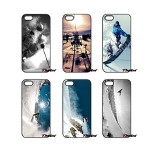 Awesome Love Snow Or Die Ski Snowboard Phone Case For iPhone 4 4S 5 5C SE 6 6S 7 Plus Samsung Galaxy Grand Core Prime Alpha(China)