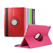 360 Rotating Folio Stand Smart Faux Leather Case Cover for Apple iPad 2 3 4