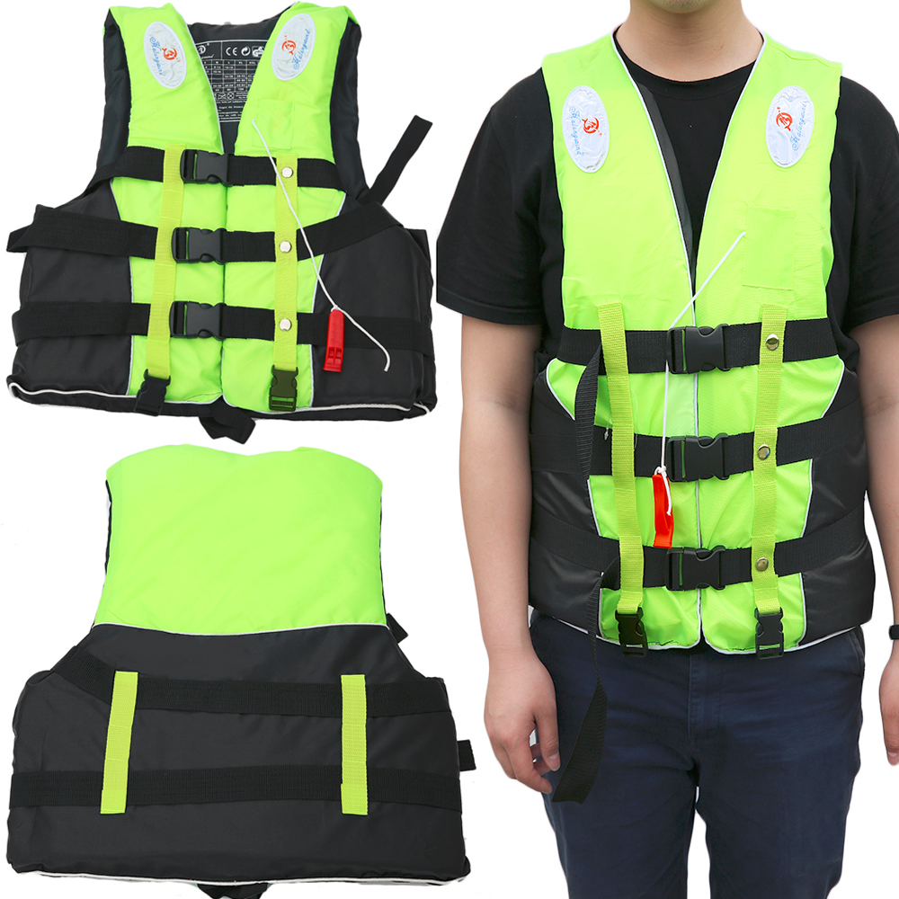 Halong Wind 6 Sizes Unisex Polyester Swimwear Jacket Life Vest Colete Water Sports Swimming Drifting Surfing Clothing(China (Mainland))
