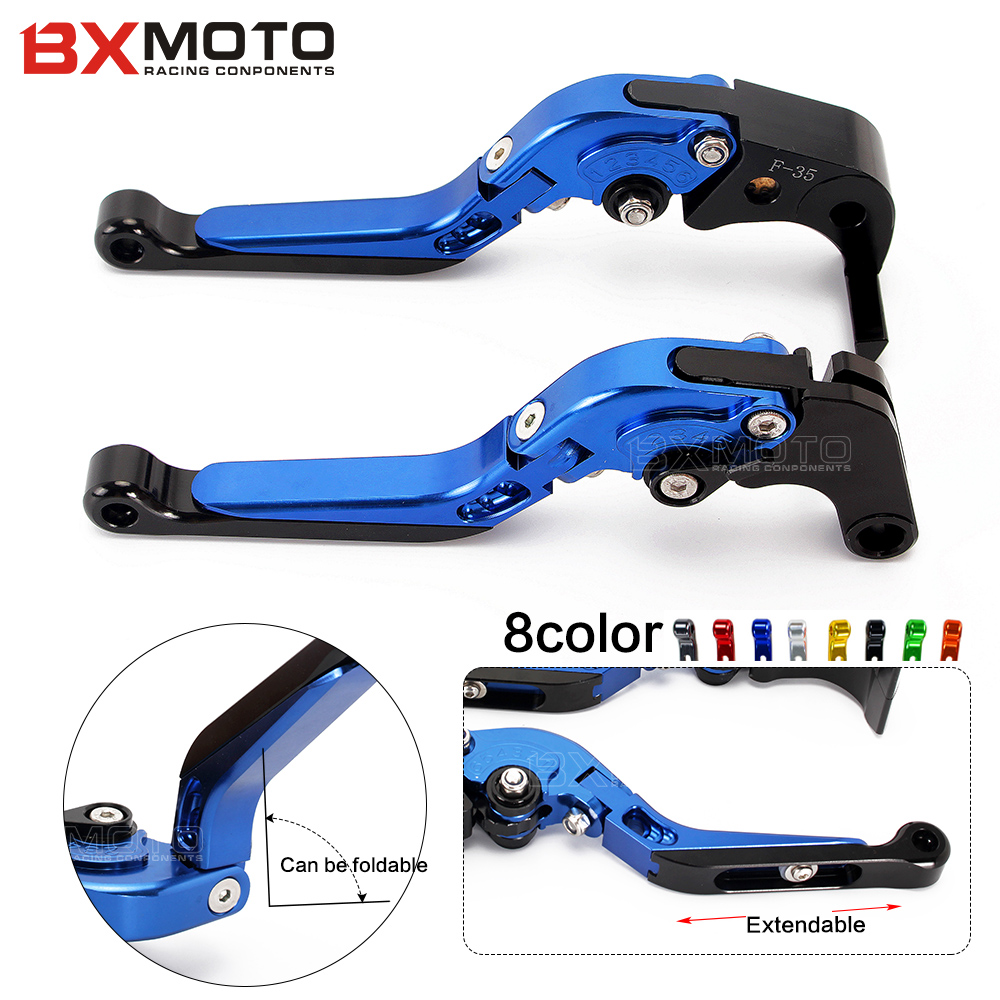 For Yamaha MT01 MT-01 2004-2009 V-MAX 2009-2015 Motorcycle CNC Aluminum Adjustable Brake Clutch Levers set<br>