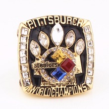 Factory Direct 2005 Super Bowl Pittsburgh Steelers World Championship Ring Replica Fashion Custom Jewelry Sports Circle(China)