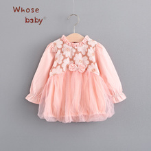 Newborn Princess Dresses For Girls Lace Baby Girl Clothes For Children Infant Kid Girl Dress Wedding Birthday Party Formal Dress(China)