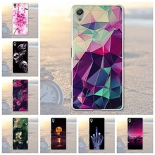 Soft Phone Cases For SONY Xperia X F5121 Dual F5122 5.0 inch Cases Back Covers Skin Housing for Sony Xperia X F5121 Dual F5122(China)