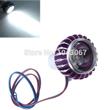 Dozngzhen 3W LED Cree Chips Day Spot Light Motorcycle Truck Car Van Bicycles Boat Xenon white