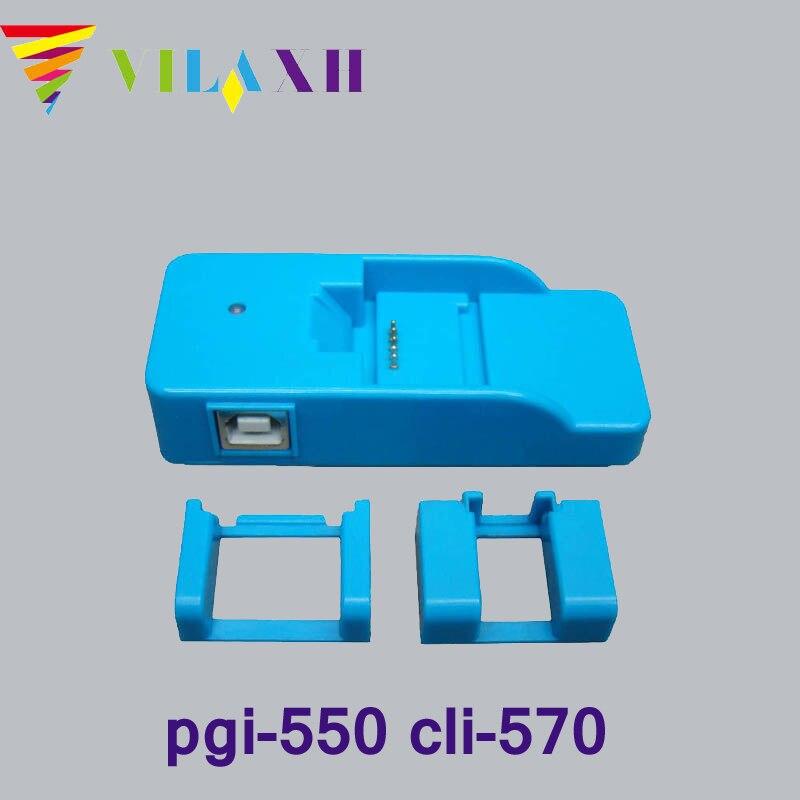 vilaxh pgi-550 cli-551 Cartridge chip resetter for canon pgi550 pgi 550 cli 551 for Canon PIXMA MG6350 IP7250 MG6450 MG5550<br>
