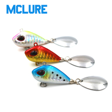MCLURE 1pc Metal VIB Fishing Lure wobblers 10g 25g Crankbait Vibration Spinner spoon Sinking Bait Fishing Tackle(China)