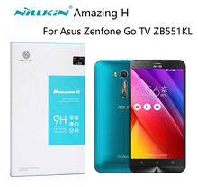 For Asus Zenfone Go TV ZB551KL Screen Protector Nillkin Amazing H Anti-Explosion Zenfone Go TV Tempered Glass premium version(China)