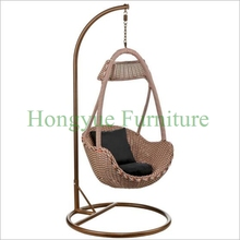 Rattan hammock chair swings furniture set