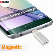 NetDot Micro USB Adapter For Samsung S6 S7 Edge Note 5, Magnetic Charger For Android XIAOMI ONE PLUS LG Lenovo ZTE Meizu Cable