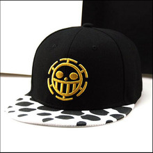 Free Shipping Fashion One Piece Baseball Cap Hat Trafalgar Law Caps For Women Men Hip Hop Cap Snapback Caps Flat Hat Bone