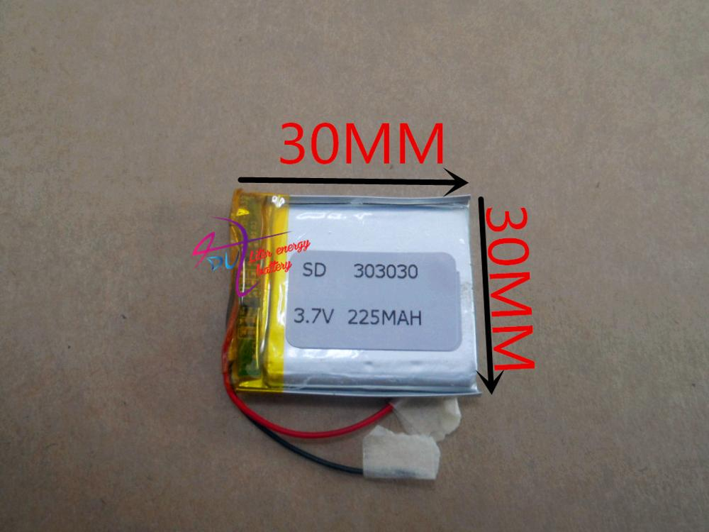 best battery brand MP3 MP4 free shipping 303030   302830   225MAH MP5 Sound card recorder batteries<br><br>Aliexpress