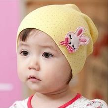 1 Piece Autumn Crochet Baby beanie Hat Girls Boys Cap Children Striped Infant Cute Spring Toddlers Star Newborn soft warm(China)