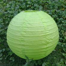 [ Fly Eagle ] Green Chinese Paper Lanterns Wedding Decorations(China)