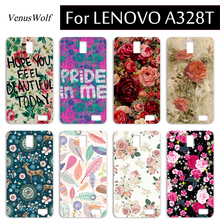 Wholesale 100% Luxury brand Case Cover for Lenovo A328 A 328 A328T Cell Phone Case PC Hard Cartoon Original Back Bag Cover