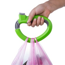 ABS Portable Carry Food Machine Ergonomic 17 * 12 CM Weight Capacity 15 Kg Hand Tray Bag Hanging Ring Shopping Helper Tools(China)