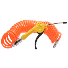 Pneumatic Air Dust Blower Device Blowing Gun Accessory Tool Kit Plastic Dust Removing Remover Machine with PU Spring Hoses Tubes