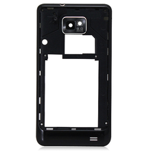 New Housing Middle Frame Chassis Plate Back Cover Bezel Frame Replacement For Samsung galaxy S2 i9100