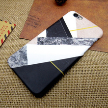 Hot Selling Fashion Marble Phone Cases Comfortable Soft TPU Case for iPhone 5 5S SE6 6S Plus Ultrathin Stone texture Back Cover