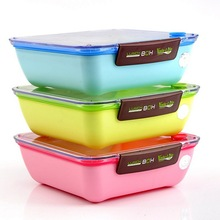Life Valley Child Lunch Box Microwave Japan Bento Food Container Case Snack Box
