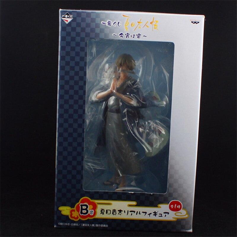 Anime Natsume Yuujinchou Nyanko Sensei Takashi Cat Neko PVC Action Figure Model Toys Cute Figuras Dolls Gift 20cm  (9)