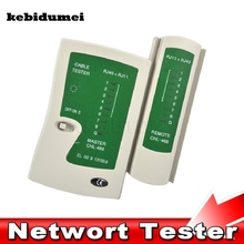 kebidumei RJ45 RJ11Cat5 Cat6 LAN Cable Tester  Handheld Network Cable Tester Wire Telephone Line Detector Tracker Tool kit