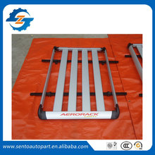 High quality 185*100cm Aluminium alloy SUV roof rack Basket Top Luggage Carrier fit for universal car