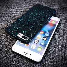 New Style 3D Cover Ultrathin Frosted Starry Sky Phone Case for iPhone 7Plus 7 6Plus 6s 6 5SE 360 Case Full Body Coverage Coque