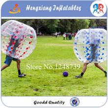 Free Shipping 1.2m 100% TPU Bubble Footballs/ TPU Bumper Balls,Inflatable Bubble Ball Game