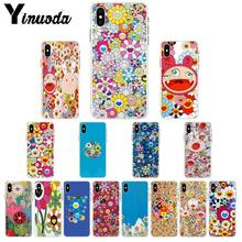 Мягкий чехол Yinuoda для iPhone 5, 5Sx, 6, 7plus, 8, 8Plus, X, XS, MAX, XR(Китай)