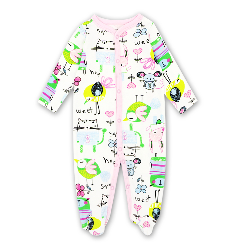 100% cotton Baby Clothes Girls Clothing Baby rompers Baby Clothing Long-sleeved Clothing Set Baby's Sets