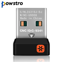 Powstro USB Receiver Dongle Genuine Tiny Unifying for Logitech Mouse and Keyboard Can Connect Up To Six Devices w/ Unifying Logo