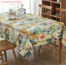 Free Shipping Color Patchwork Square Tablecloths Cotton Linen Tablecloth Rectangular Table Cloth Solid Table cover Manteles