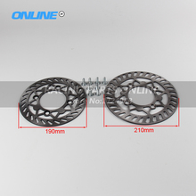 Front and Rear brake disc plate set for Motorcycle motocross KAYO BSE 110cc 125cc 140cc 160cc pocket bike dirt bike