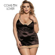 Comeonlover Women Pajamas Sleepwear Sex Lingerie Plus Size Suppliers Of Erotic Costume Sex Women Underwear Lace Lingerie RI80352(China)