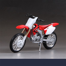1:12 Scale Maisto Die-cast Metal Motorcycles Model, Simulation Motorcycle Toys For Children, Honda CRF450R Motor Toy Brinquedos
