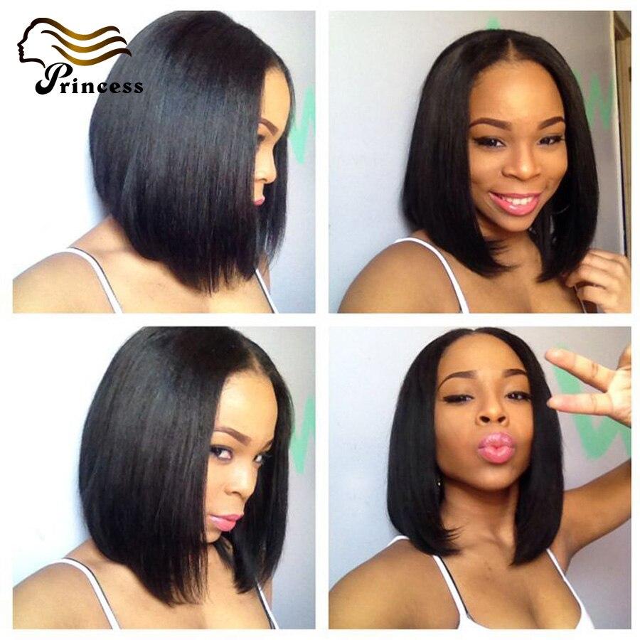 Peruvian Short Glueless Full Lace Human Hair Wigs Lace Front Wigs Virgin Hair Short Bob Wig Human Hair Short Wig With Baby Hair<br><br>Aliexpress