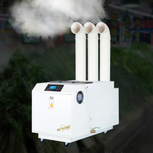 Industrial ultrasonic humidifier Atomization mute humidification machine Commercial humidifier for basement workshop