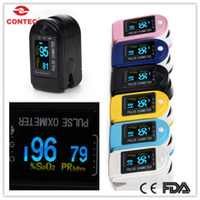 CONTEC BRAND NEW Fingertip Pulse Oximeter - OLED color display Pulse Oximeter Spo2 Test Monitor / 6 colors CMS50D(China)