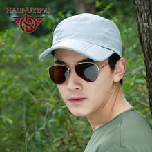 2017 Brand HNYP Hot Men's Caps Sun Hats Outdoor Casual Hip-hop Street Mesh Breathable Comfortable Hat Sports Cap GL-P-60(China)