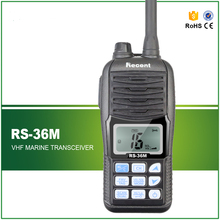 Free Shipping High Quality Compact 1500MAH Rechargeable Handheld VHF Marine Radio Transceiver