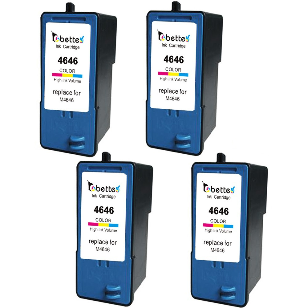 4 Packs, High Quality Ink Printer Inkjet Cartridges for Dell M4646 for Dell 922 924 942 944 946 962 964...<br><br>Aliexpress