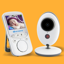 2.4 inch Color LCD Baby Monitor 2 Way Talk Night Vision IR Baby Camera with Music Temperature  Portable Baby Nanny Monitor
