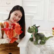 Cute Cartoon Dinosaurs Plush Toys Animal Plush Toy Toothless Dragon Stuffed Animal Dolls Movie Toys For Kid Gift Toys for childr(China)