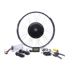 2018 Free shipping 48V 1000W rear high speed Motor Electric Bicycle eBike Conversion Kits for 20''26''28''700C motor wheel(China)