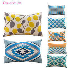 Geometric Printing Pillow Case Cafe 2016 New Arrival Hot Sale Wholesale  Home Decor Cushion Covers  Free Shipping Dec 13