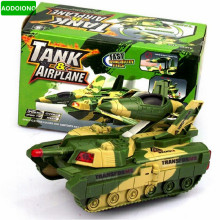 World Of Tanks Model Brinquedo Menino Deformation Of The Plane Toy Music Kids Toy Vehicles Glowing Toy Boy