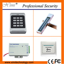 Hot sale 1000 card capacity proximity card 125KHZ EM card door access control system without software single door control