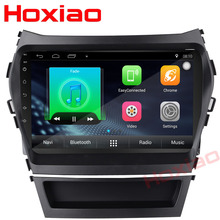 Android 7.1 Car player Gps For HYUNDAI IX45 2013 SANTA FE santafe head units Multimedia 2 din car dvd player(China)