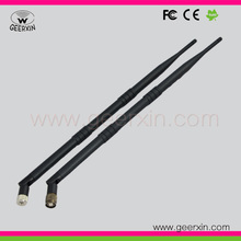 Omni wi-fi antenna 9dbi for indoor geerxin  2.4G 2400-2500GHz RP-SMA male  transmitter and receiver omni antenna,2pcs